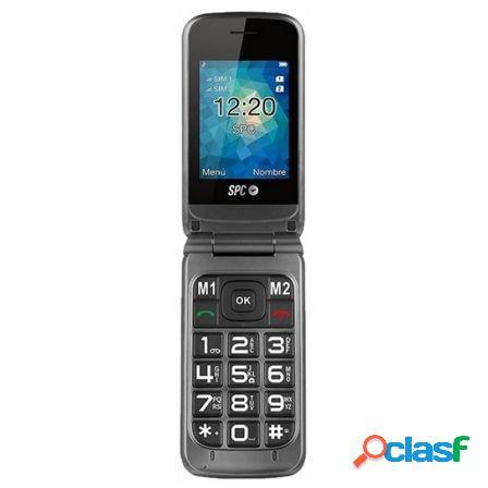 """Telefono movil libre spc stella - pantalla 2.4""""/6.1cm -"""