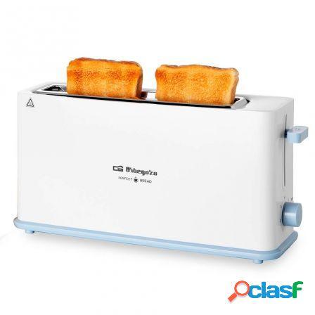 Tostador de pan orbegozo to 4014 - 850w - 1 ranura larga - 7