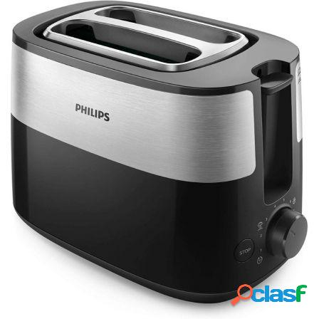 Tostador philips daily collection hd2516 negro - 830w - 8
