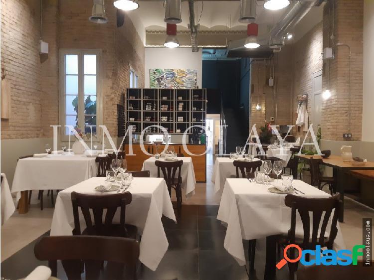 Traspaso Restaurante C3 mixto en l´Eixample