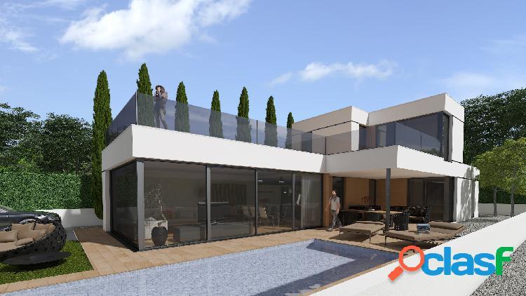Villa de lujo, tiene 150 m2 co