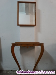 Antiguo mueble recibidor años 70