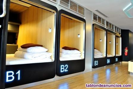 Hostel con bar 75 plazas turísticas apto otros usos