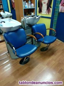 Mobiliario peluqueria