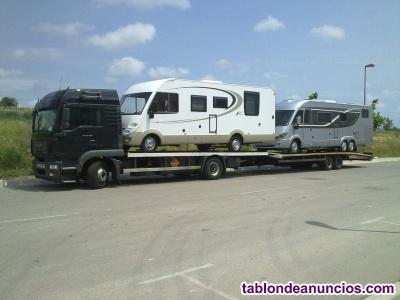 Venta empresa transporte nacional y internacional
