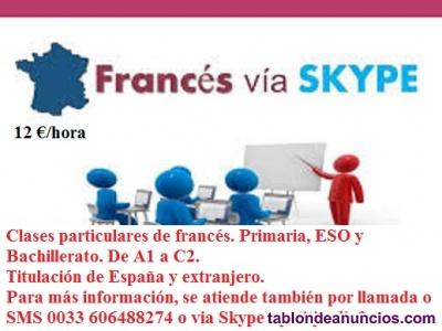 Clases de frances - online -