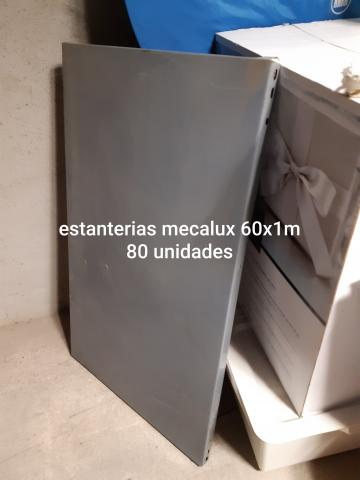 ESTANTERÍAS METALICAS DE DIFERENTES MEDIDAS CON SUS