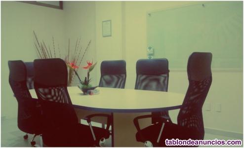 Oficina en ciudad judicial para 1 persona.