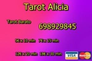 TAROT ALICIA SIN ENGAÑOS 7€ X 15 MIN