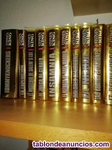 Vendo estupenda colección de 19 libros edición oro stephen