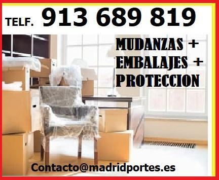 ANUNCIOS MUDANZAS AL MEJOR PRECIO DEL SECTOR