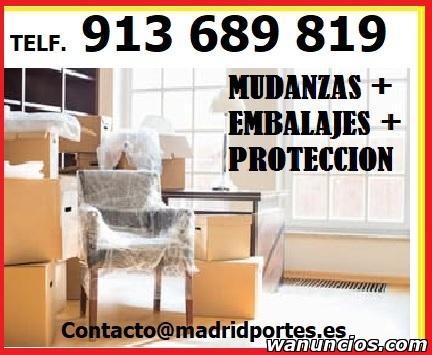 ANUNCIOS MUDANZAS AL MEJOR PRECIO DEL SECTOR - Madrid