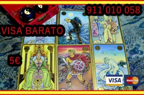 tarot visa barato efectivo 5€-10min MARISA videncia fiable
