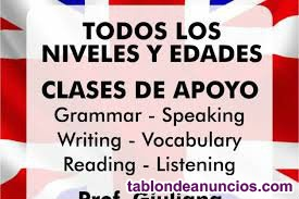 Clases de inglés online 10 clases 75 euros