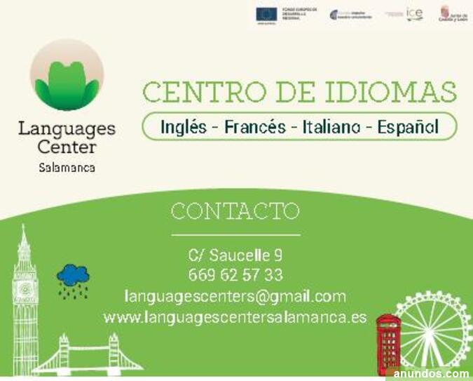 Clases de inglés primaria y secundaria - Salamanca Ciudad
