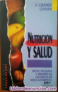 Nutrición y salud. Peligros con dietas.