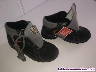 Se vende botas nuevas de seguridad de trabajo