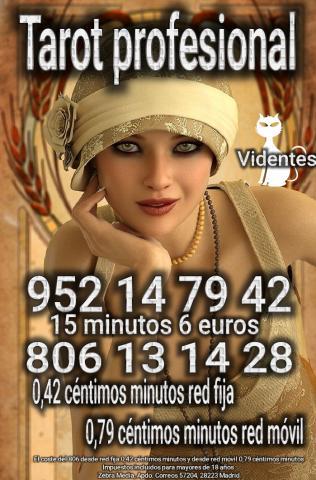 Tarot profesional serio 15 minutos 6 euros