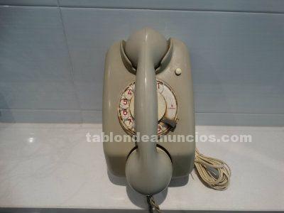Antiguo teléfono de pared marca siemens