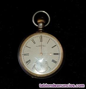 Reloj antiguo de bolsillo waltham royal