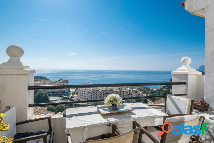 Apartamento con espectaculares vistas al mar en Altea