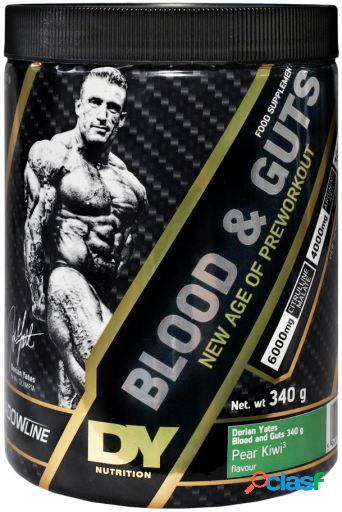 Dorian Yates Blood and Guts Blueberry 380 gr Arándano