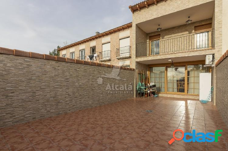 Exclusiva casa con Patio, solarium y terraza con