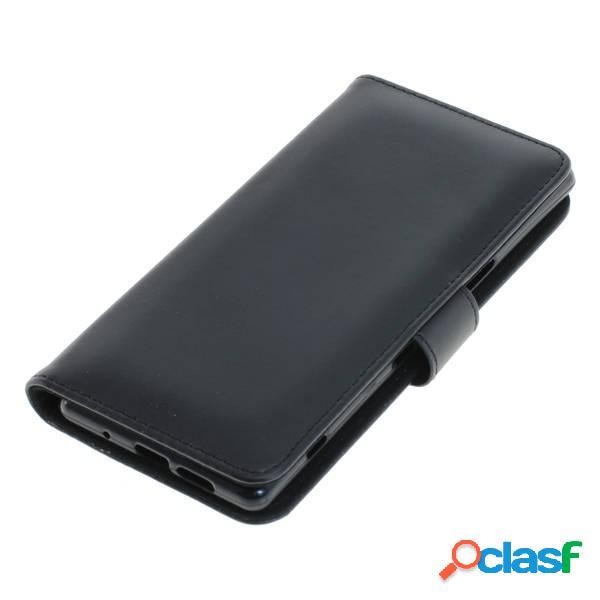 Funda tipo libro para Sony Xperia 1, negra