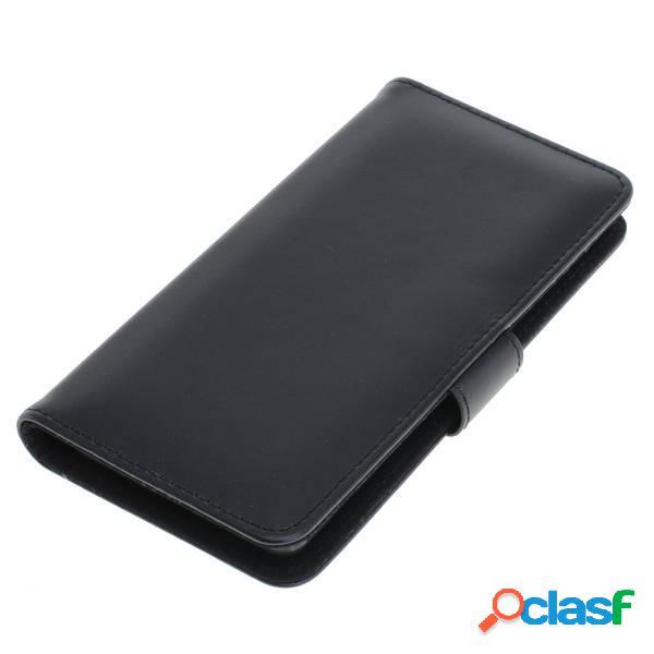 Funda tipo libro para Sony Xperia 5, negra