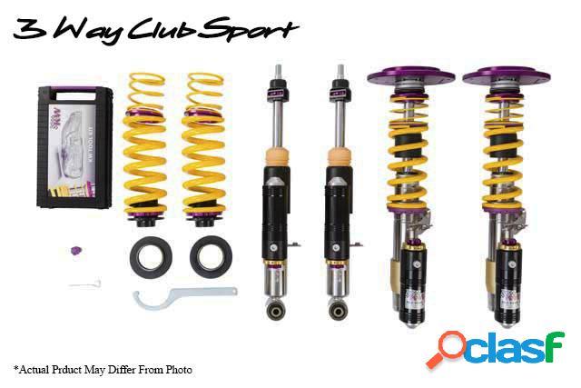 KW suspension Clubsport con copelas 3- vias AUDI A3; (8P)