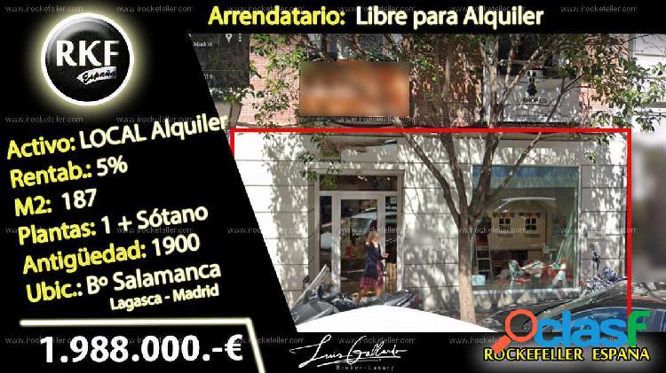 Local comercial - Recoletos, Salamanca, Madrid [228314/Local