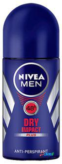 Nivea Desodorante Men Dry Impact Roll On 50 ml