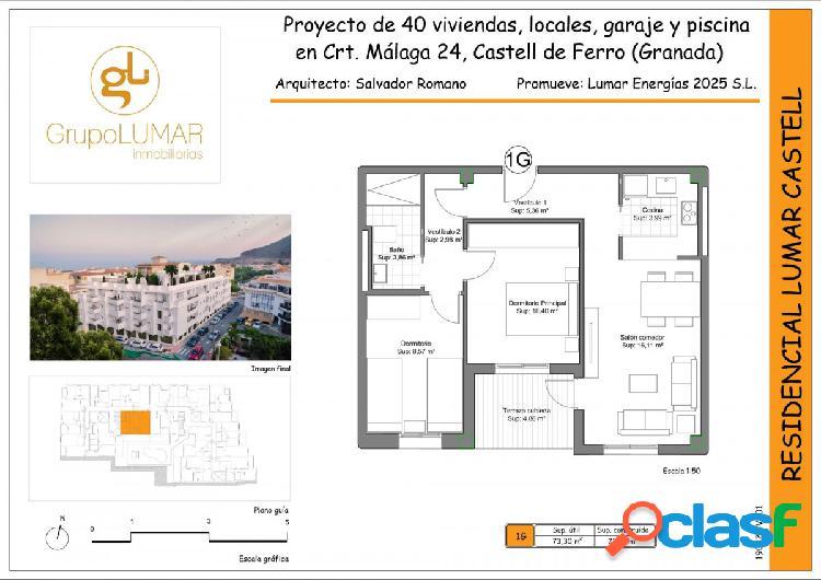 Nueva construccion en Castell de Ferro. 1G C28S
