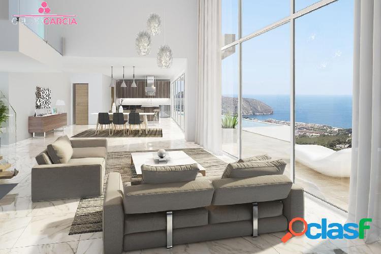 Nueva villa de lujo con vistas panorámicas al mar en venta