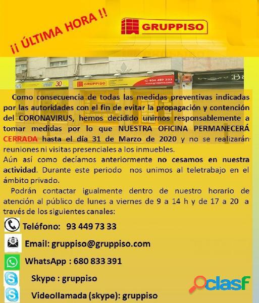 PISO 3 HABITACIONES PUBILLA CASAS