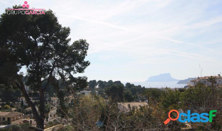 Parcelas con Vistas al Mar a tan solo 1 km de Moraira