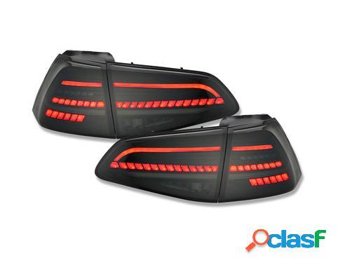 Pilotos traseros LED VW Golf 7 VII 2013-2020 negro/ahumado