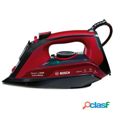 Plancha de vapor bosch da50 edition rosso - 3000w -