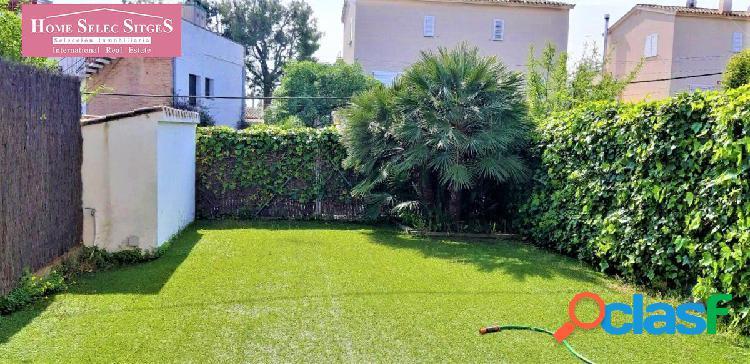 Planta baja con jardín
