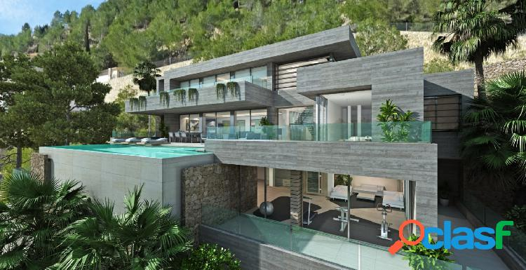 Proyecto - Villa moderna con piscina privada y maravillosas