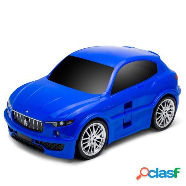 Ridaz Maleta de viaje para niños - Maserati Levante - Azul