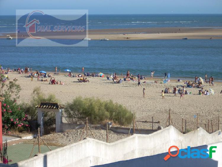 Se vende piso con vistas al mar en primera linea de playa,