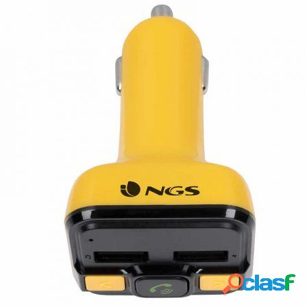 Transmisor fm bluetooth para coche ngs spark curry bt - 206