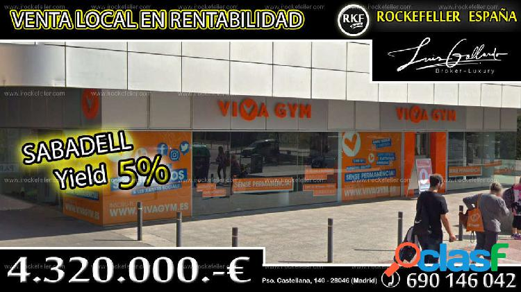 Venta Local comercial - Sabadell, Barcelona [218885/Local