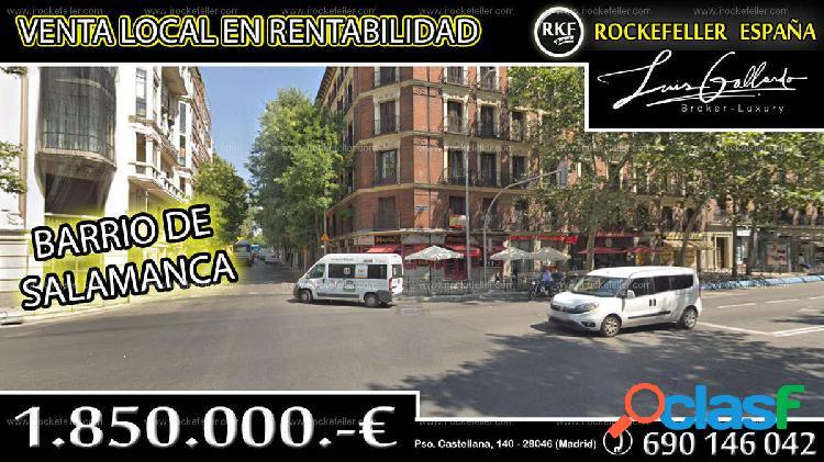 Venta Local comercial - Salamanca, Madrid [219929/Local