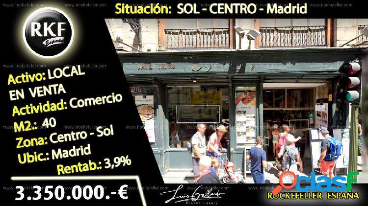 Venta Local comercial - Sol, Centro, Madrid [230175/Local
