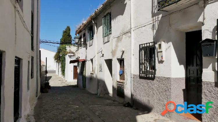 Venta de casa en el Albaycín (Granada)