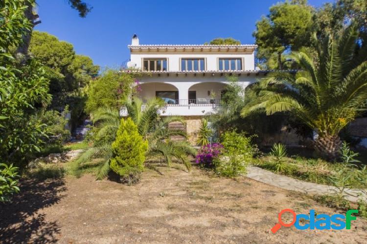 Villa con vistas al mar en Moraira- Cap Blanc