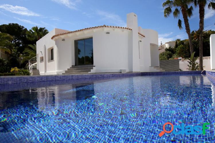 Villa en una sola planta en Benissa Costa - Montemar