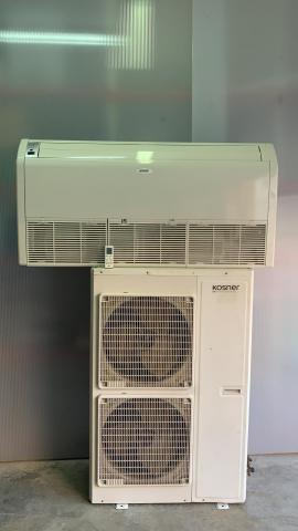 Aire ac. Kosner split techo inverter  frig+b